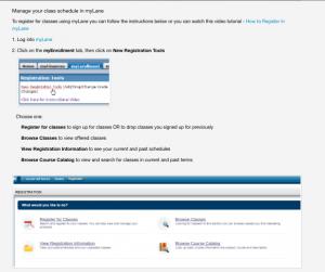 example of documentation